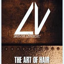 Logo Peluquería LV Lorena Varona The Art of Hair
