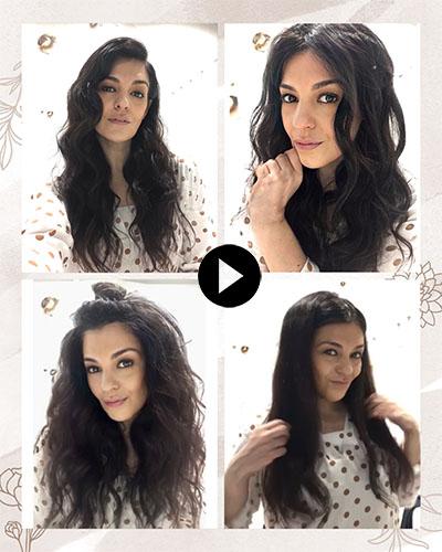Peinados Navidad para vídeo