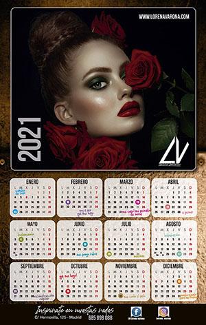 Calendario 2021 Lorena Varona