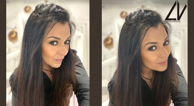 Auto-peinados fáciles y divertidos Look 1